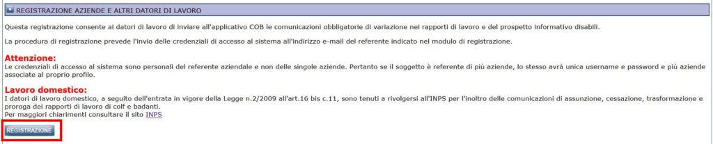 registrazione portale Sintesi Lombardia