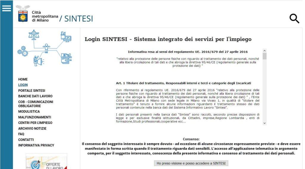 portale Sintesi