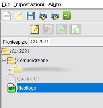 riepilogo CU 2021
